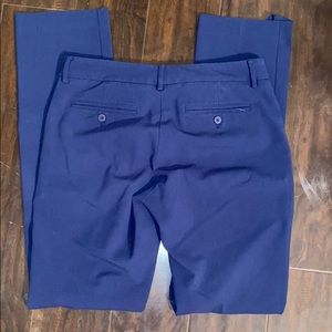 New York and company navy blue dress pants size 4